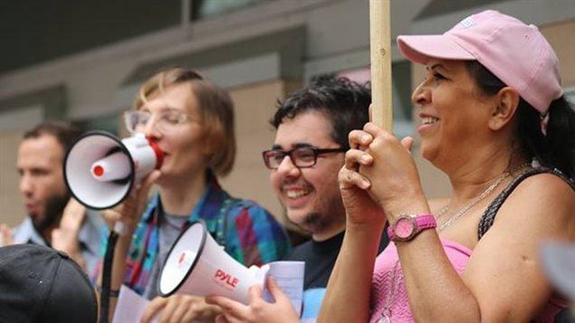 Los integrantes del colectivo confían en una pronta decisión de la Asamblea Legislativa en Quebec.