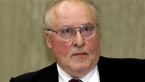 Ernst Zündel, le jour de sa condamnation, le 15 février 2007. Photo : Getty Images/Torsten Silz