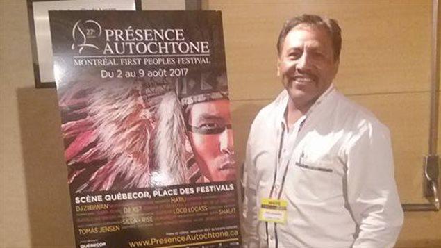 El documentalista mexicano José Luis Matías Alonso en Montreal