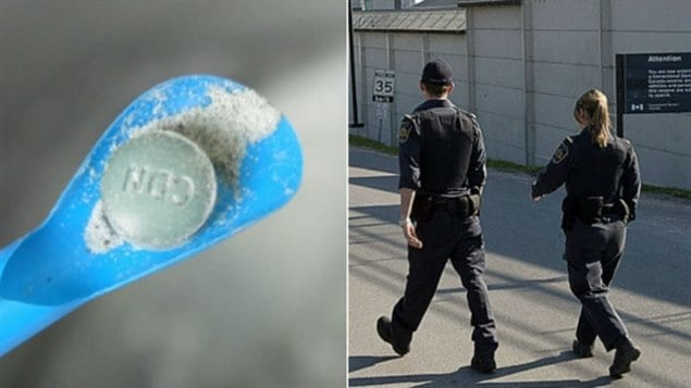 The drug fentanyl has proven to be a hazard for prison guards conducting routine searches.