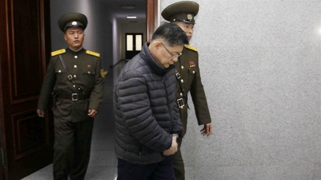In 2015, North Korea sentenced Hyeon Soo Lim to a life of hard labour for subversion.