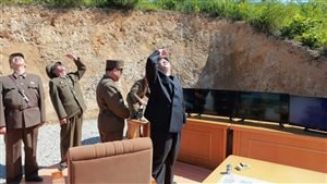 (KCNA via Reuters)
