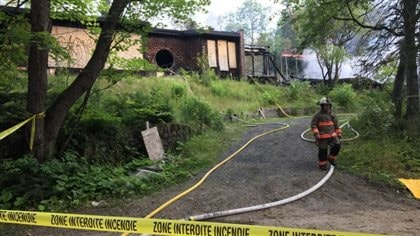 Fire at Morin Heights' historic recording hub, Le Studio