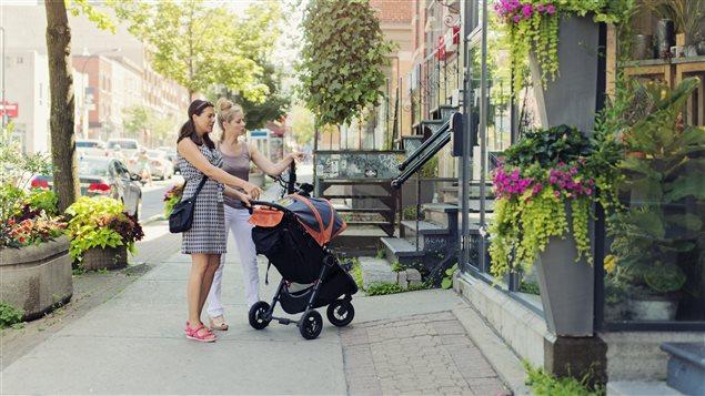 Contra una tendencia mundial, el centro de Montreal se encuentra habitado.
