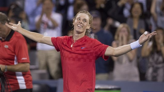 'Pure happiness,' is how Denis Shapovalov described his win against top-seeded Rafael Nadal.