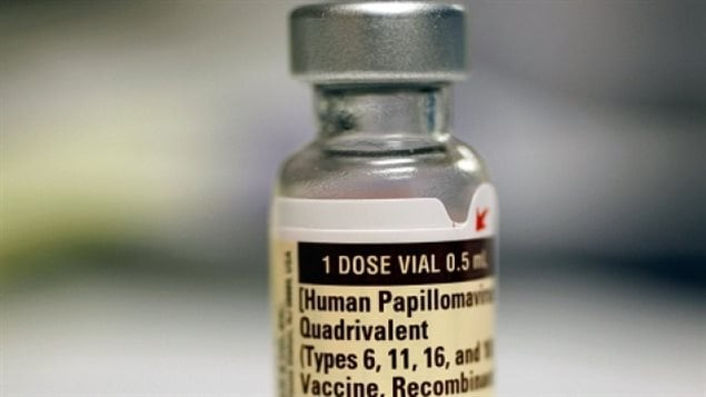 A vaccine against HPV infection for girls was approved in Canada in 2006.