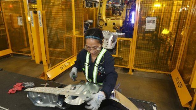安大略省不少制造业就业岗位依赖美国市场