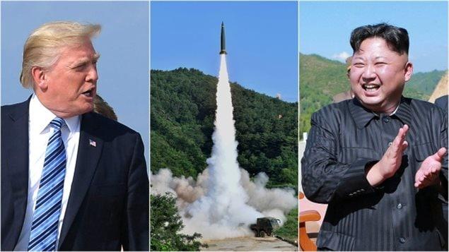 Donald Trump y Kim Jong-un, líderes de Estados Unidos y de Corea del Norte respectivamente, se encuentran enfrascados en una guerra de declaraciones y amenazas.
