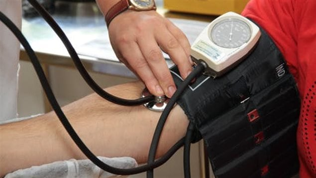 Health care professionals will take blood pressure and other measures of people's health and ask them to fill in a questionnaire.