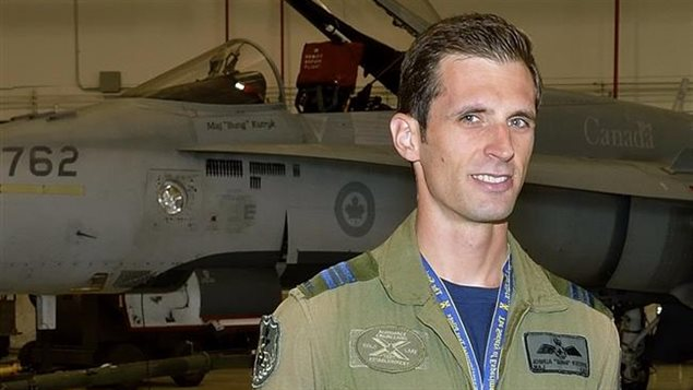 LCol Joshua Kutryk was chosen in July by the Canadian Space Agency as Canada's second astronauat candidate
