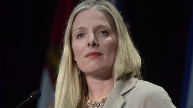 La ministre de l'Environnement et du Changement climatique, Catherine McKennaARCHIVES LA PRESSE CANADIENNE, ADRIAN WYLD