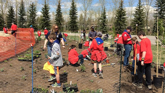 Environmental Stewardship is a core component of Scouts Canada's program.