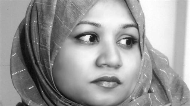 在卡尔加里居住的穆斯林女性Kaniz Fatima