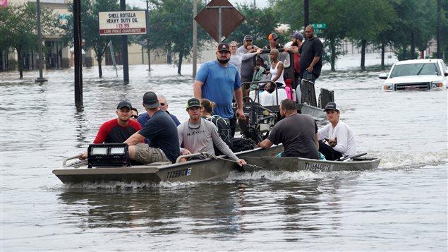 Huracán Harvey: la transmisión de MDZ desde Houston