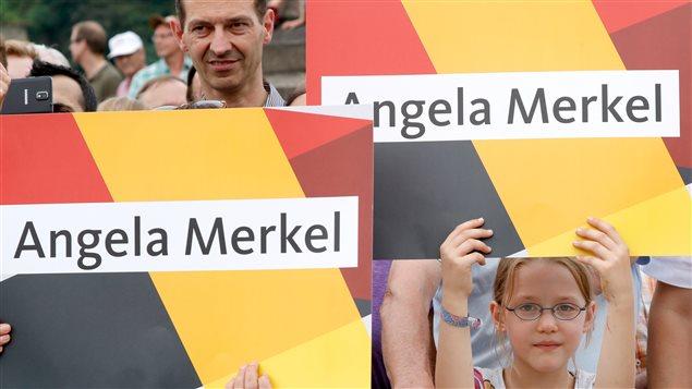 Campaña electoral en Alemania.