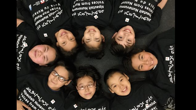 Students at Sam Pudlat School in Cape Dorset were among those who responded to the call to document their lives in Nunavut.