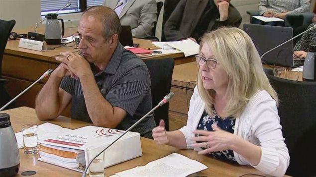 Alan et Patricia Abraham étaient parmi les passagers bloqués pendant des heures à bord du Air Transat Flight 507 le 31 juillet et qui ont témoigné durant l'enquête de l'OTC.