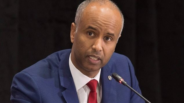 In August, Immigration Minister Ahmed Hussen says the current increase in illegal border crossings is not at a crisis level that requires a change in policy.