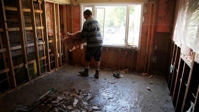 住宅被水淹是越来越常见的财产损失
