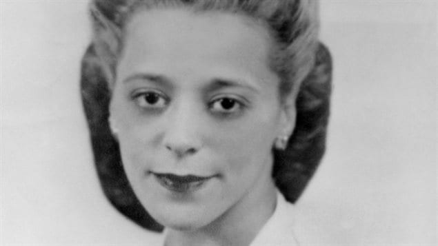 A portrait of Viola Desmond, a businesswoman and civil rights advocate, circa 1940.. Long before American Rosa Parks, this enterprising black Nova Scotia businesswoman stood up for her rights started a long lasting debate about segregation in the province and resulting eventually in repeal of racist laws