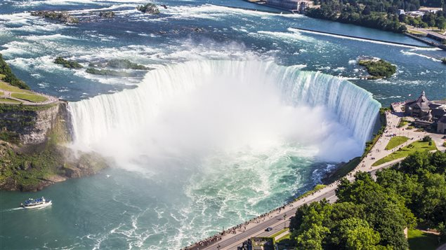 The Niagara River flows between the U.S. and Canada and sewage flowing into it is not treated for pharmaceutical chemicals.