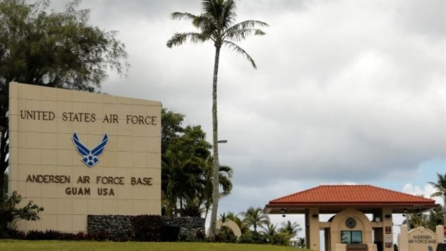 Andersen Air Force base stands on Guam, a U.S. Pacific Territory and a potential target of N Korean missiles. So far there has been no move to organize emergency departures for U.S. diplomats, their families or other American citizens from areas threatened by North Korea.