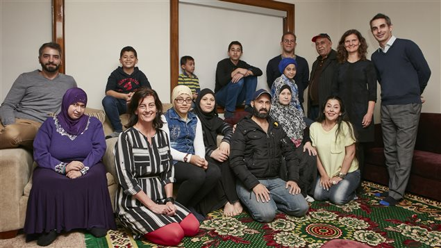 Some volunteers welcomed Syrian refugees into their homes.