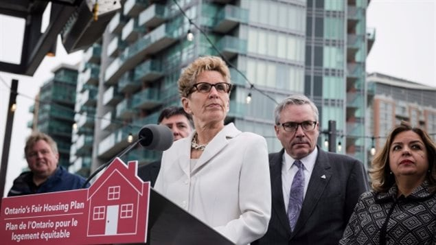 Ontario Premier Kathleen Wynne, adopted a policy similar to that of Vancouver, in imposing a tax on non-resident speculation of housing, and adding rent controls, all in an effort to cool the superheated GTA housing market. It seems to have worked.