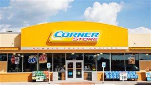 Un magasin Corner Store au Texas