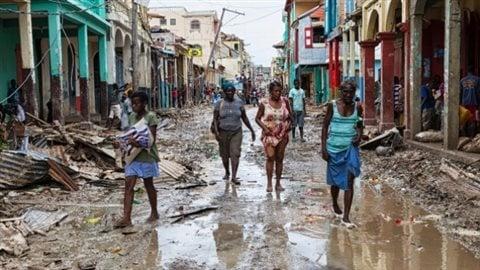 Après le passage de l'ouragan Mathew