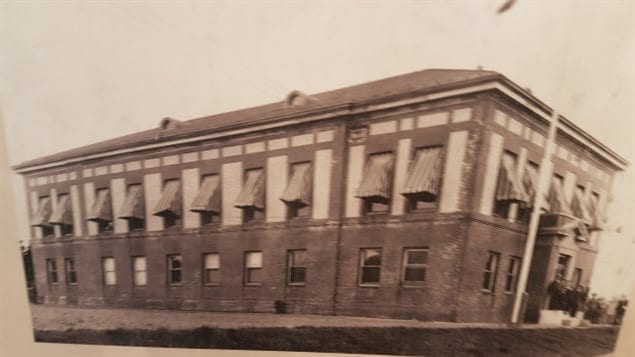 The 1914 Western Union Cable building in N Sydey, Cape Breton was torn down in August 2016.
