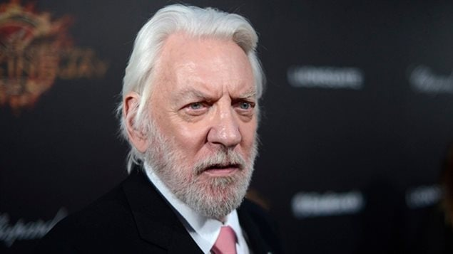 Donald Sutherland was born in born and raised in eastern Canada and will be honoured for his prolific and distinguished acting career.