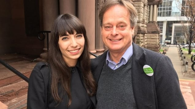 High-profile cannabis supporter Jodie Emery, left, wife of fellow activist Marc Emery, right, is among those criticizing the plan, tweeting out that it's 'disgusting' that police and politicians who fought against legalization are now 'cashing in on legal pot.'
