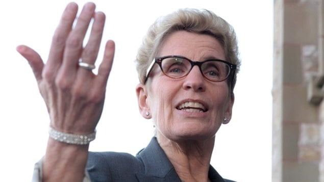 The government of Ontario Premier Kathleen Wynne announced Friday that it will create a cannabis control board and open storefronts across the province to sell marijuana. Opposition critics said the announcement on Friday was timed to divert attention from a Liberal byelection bribery scandal trial.