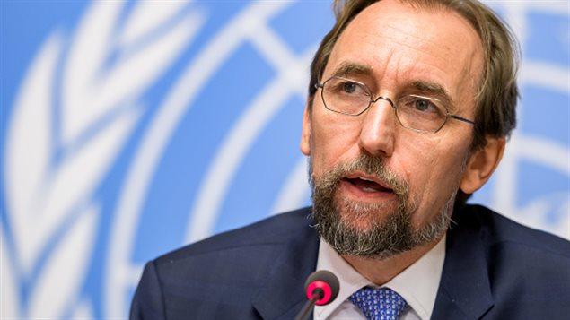 Zeid Ra'ad al Hussein, Alto Comsionado de Naciones Unidas para los Derechos Humanos.
