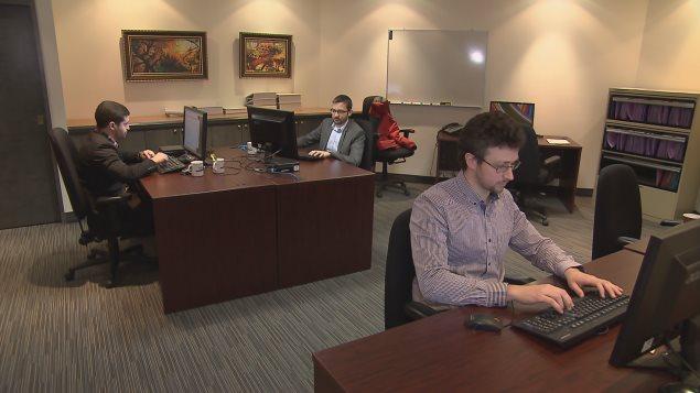 """نحوٌ من ثلث الموظفين في شركة """"سيستيماتيكس"""" الكيبيكية العاملة في مجال تكنولوجيا المعلومات أتوا من خارج كندا."""