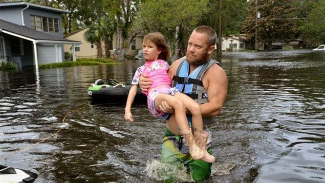 水淹住宅是飓风灾害损失中的一大部分
