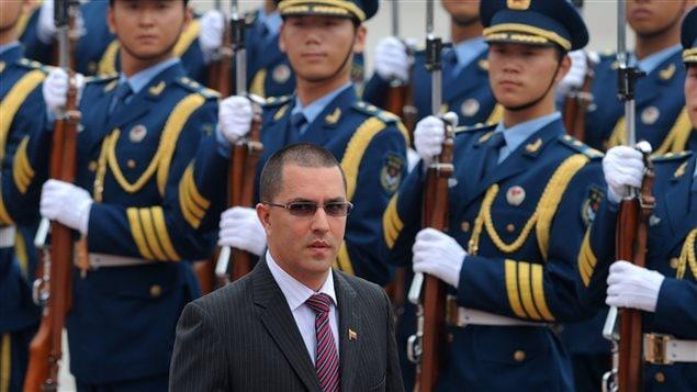 Jorge Arreaza Monserrat, ministro de Relaciones Exteriores de Venezuela.