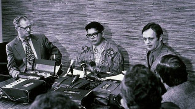 上世纪60年代克雷蒂安锐意解决印第安问题