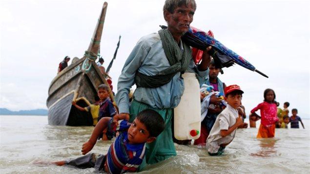 La difficile condition des réfugiés Rohingyas du Myanmar