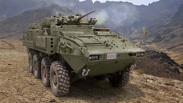 General Dynamics Land Systems Canada: the LAV III is at the heart of a multi-billion dollar sale to Saudi Arabia.-much debated in Canadian politics