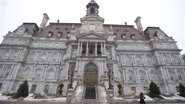 Sede del gobierno municipal de Montreal.