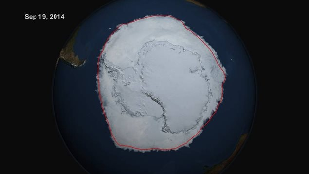 NASA Antarctic coverage record extent is only one third of sea ice loss in Arctic