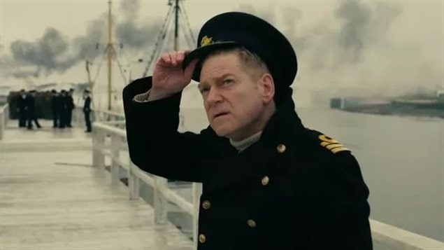 Irish actor Kenneth Branagh plays the piermaster on the east mole in *Dunkirk. The real piermaster was Cmdr JC Clouson, a Canadian