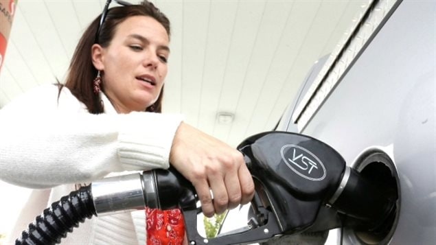 Smaller increases in the price of gas helped Canada's annual rate of inflation ease in October.