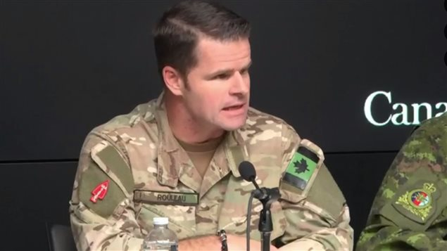 Nov 16-2016: MGen Mike Rouleau * like the police in Canada, it's not necessary to wait until we're fired upon, until we're attacked, before we can use force*