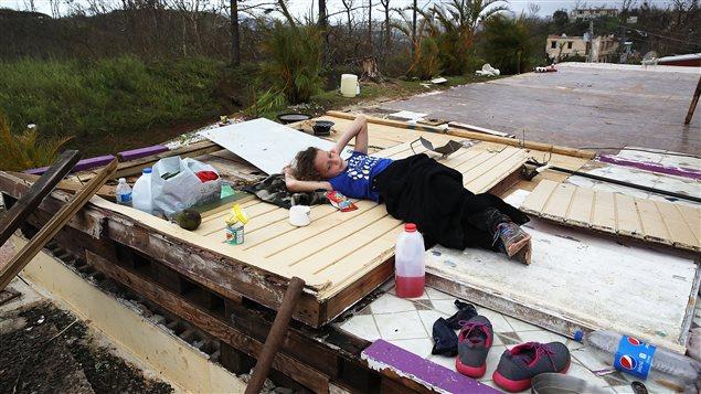 El huracán María davastó a Puerto Rico.