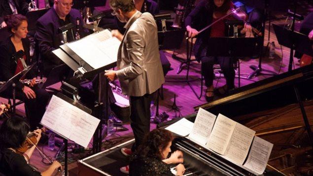 Un des concerts de la Société de musique contemporaine du Québec