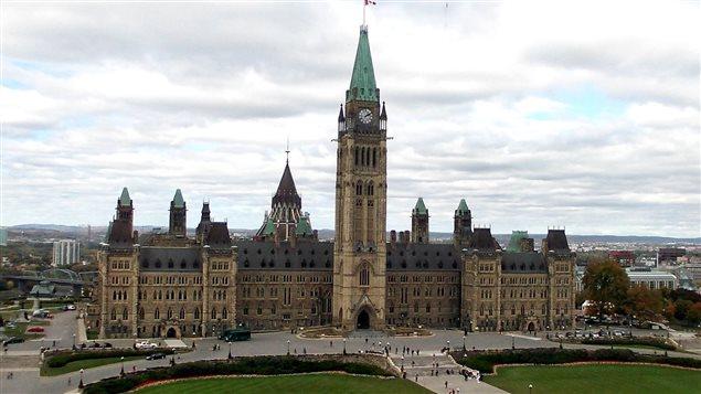 El Parlamento de Canadá en Ottawa