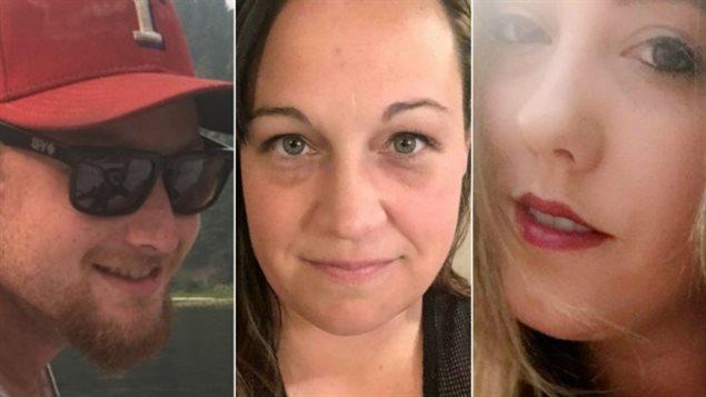 Jordan McIldoon, Jessica Klymchuk et Calla Medig. (Facebook)